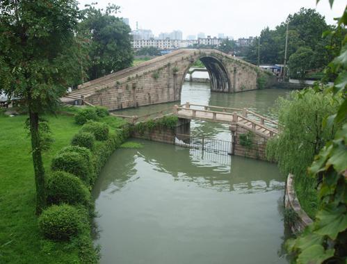 呉門橋、かっての入り口