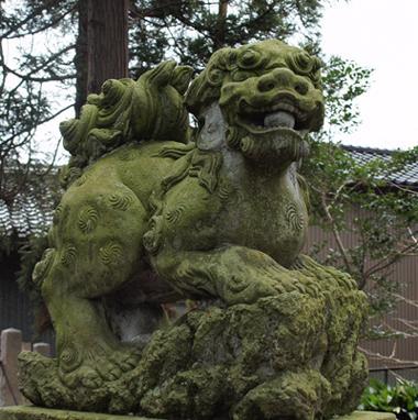 八幡神社 金沢市直江町