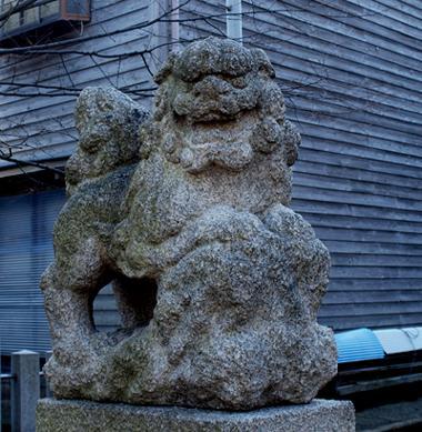 八幡神社 金沢市普正寺町